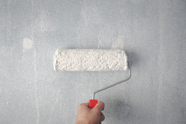 a paint roller