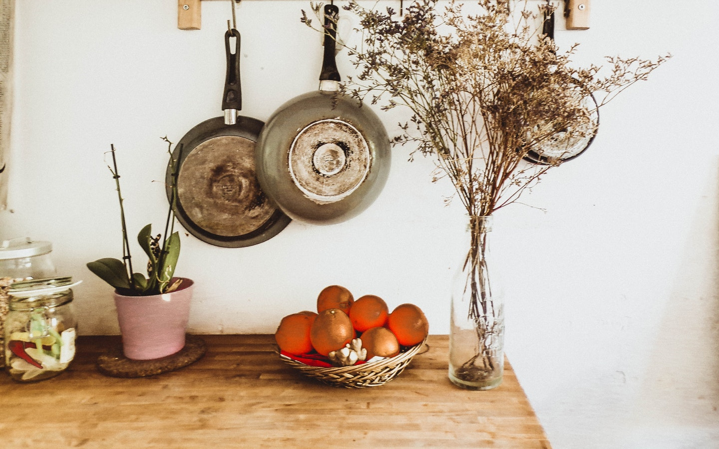 Organize your home smartly by getting a kitchen pegboard