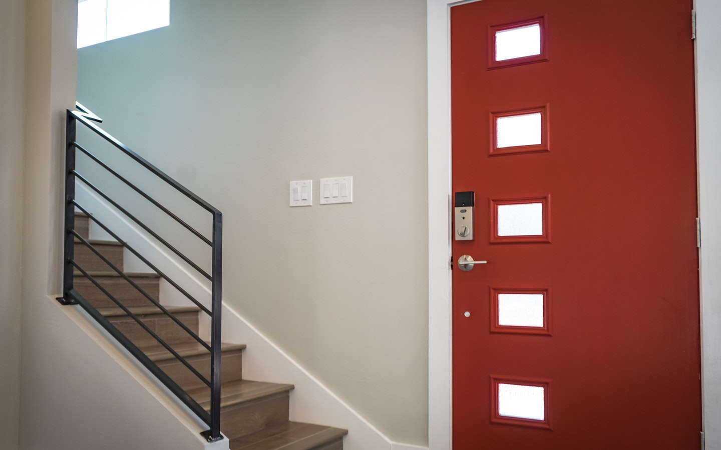Picture of an apartment's entrance