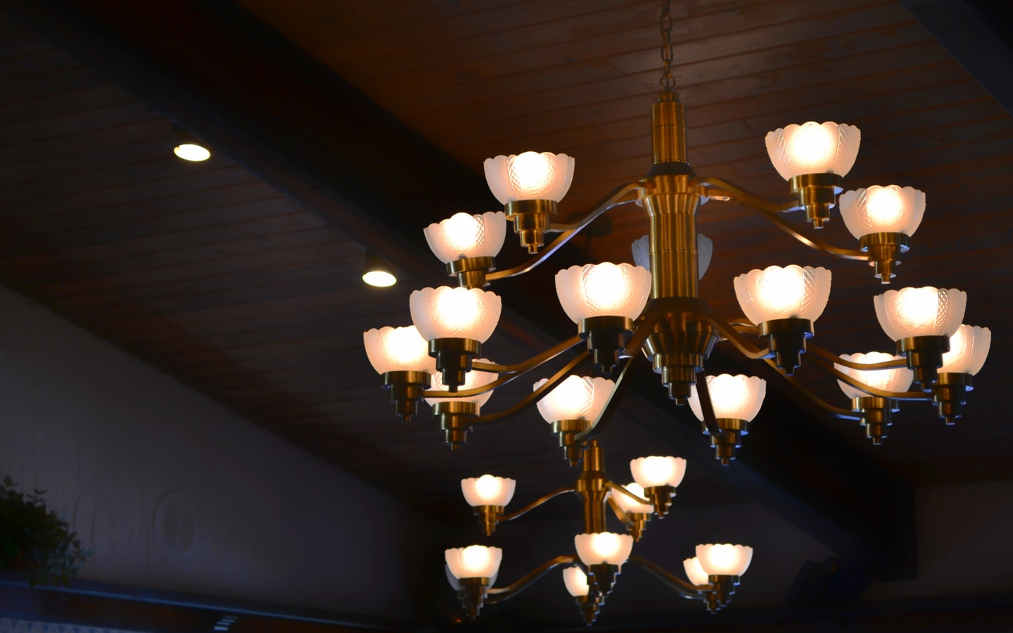 Upgrade your home by installing a trendy chandelier