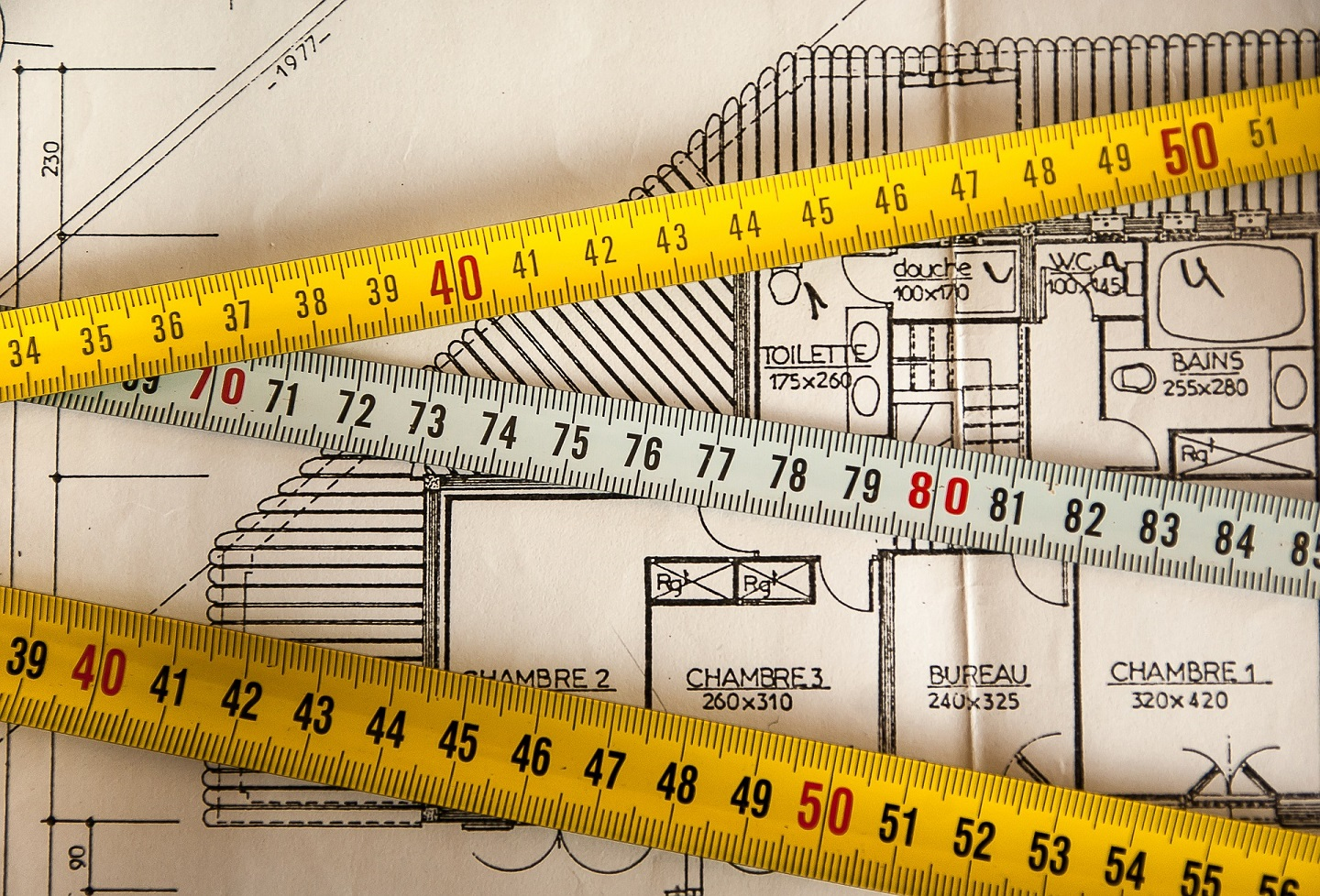 Make sure you measure the actual space size before buying a house