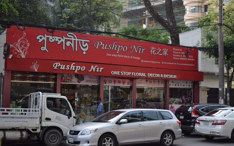 Front view of Pushpo Nir