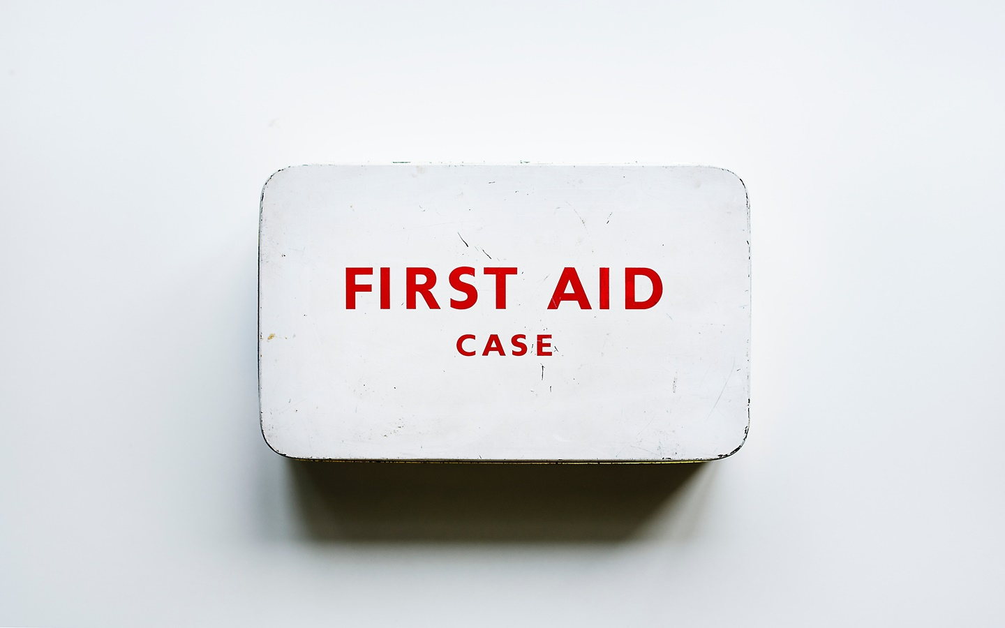Things to take when traveling - first aid