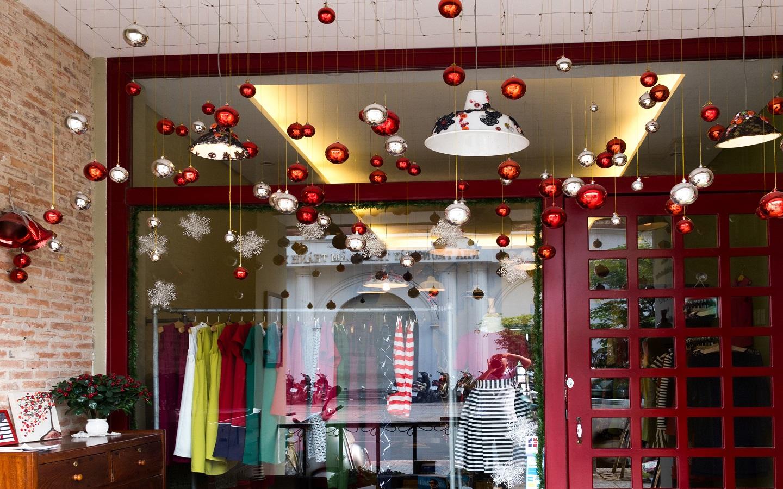 Fairy lights hanging