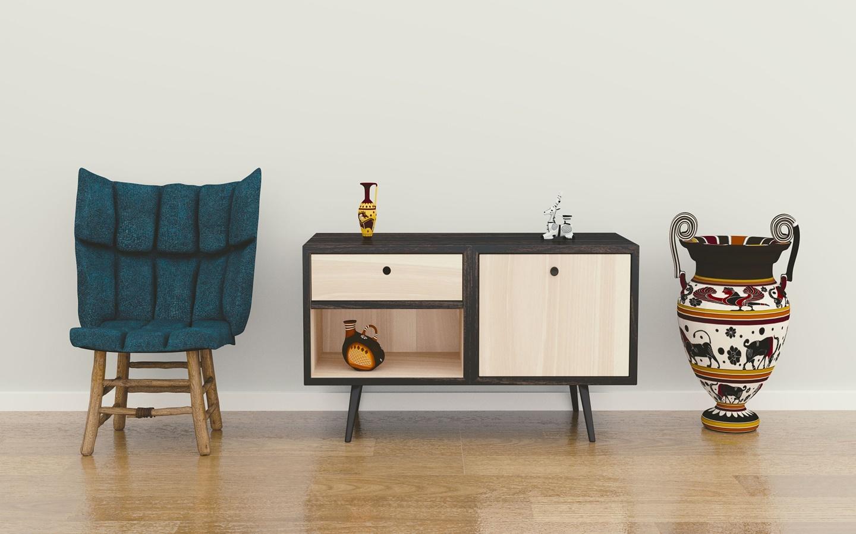 Rule of three as a home decor idea