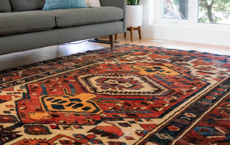 rug on the floor