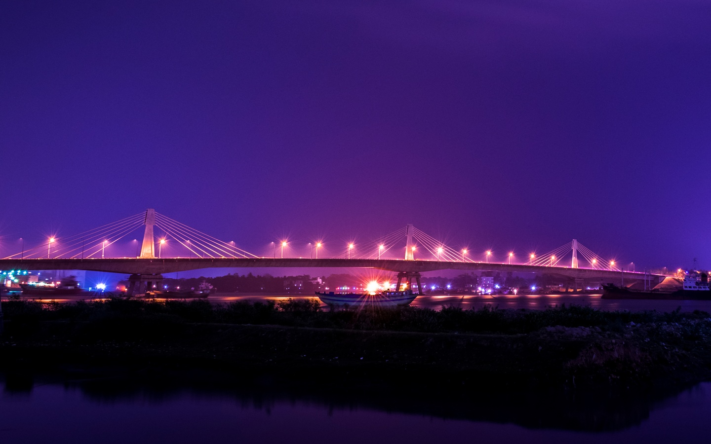 This is the third bridge bridge over the Karnafuli river