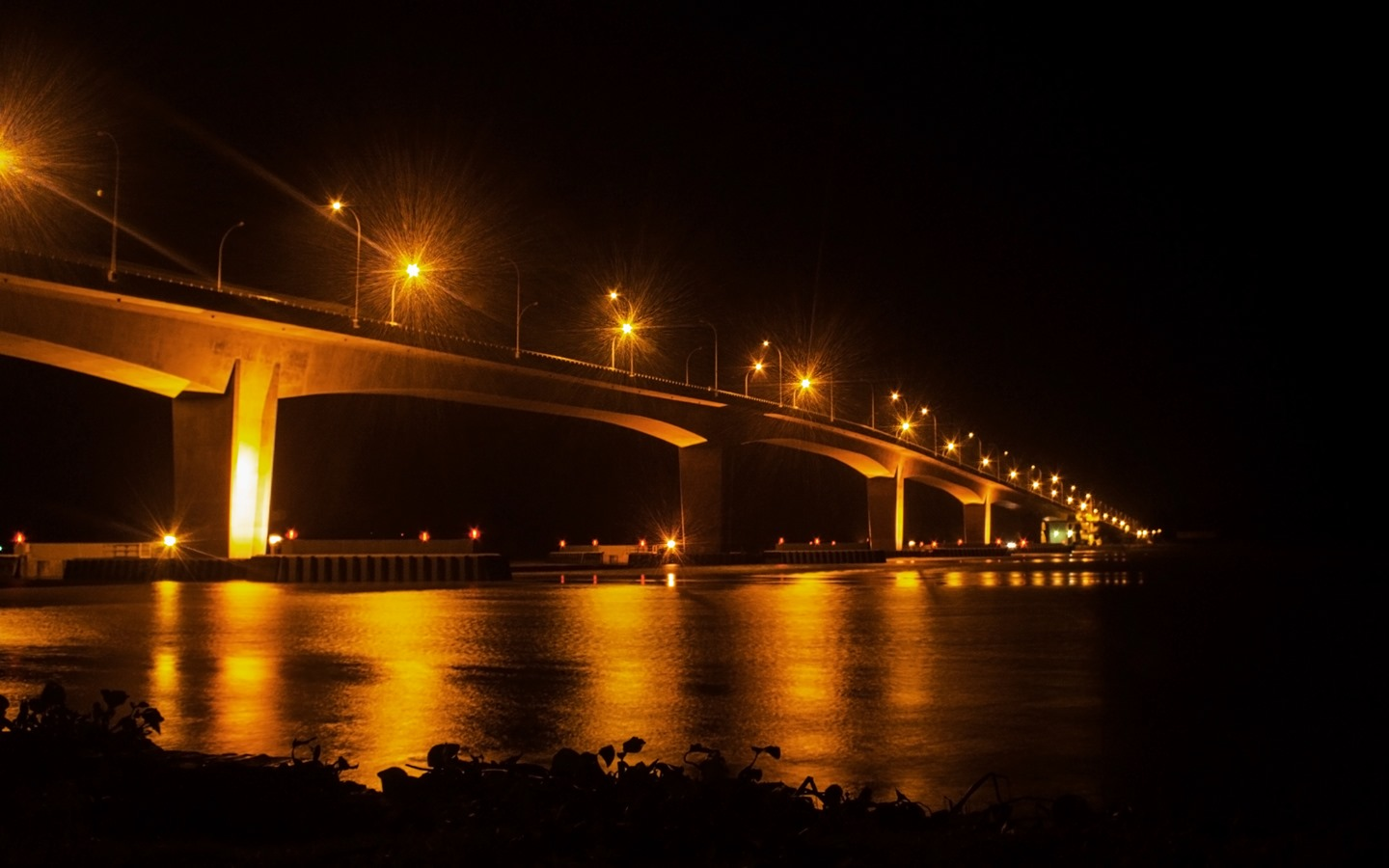 One of the most beauitufl bridges in Bangladesh