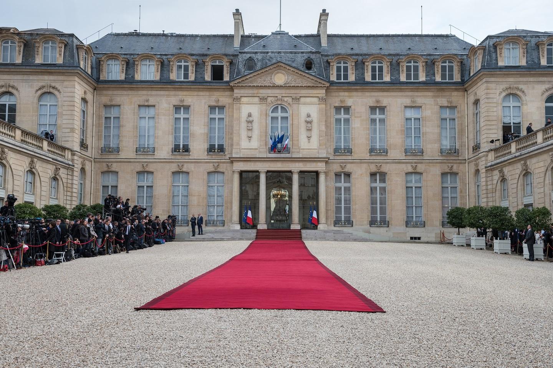 A view of Élysée Palace