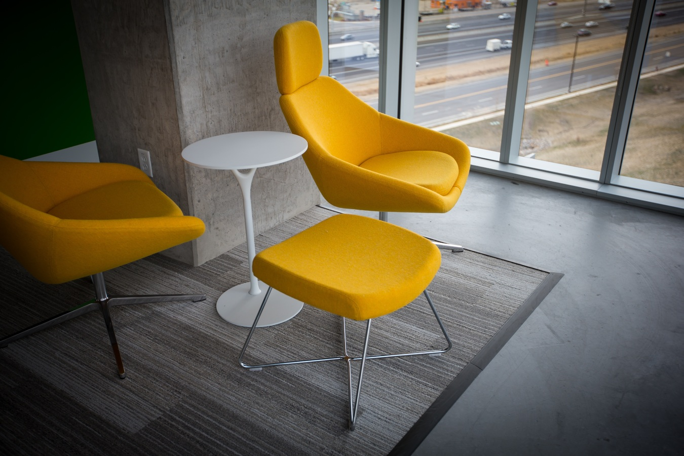 chairs in office space