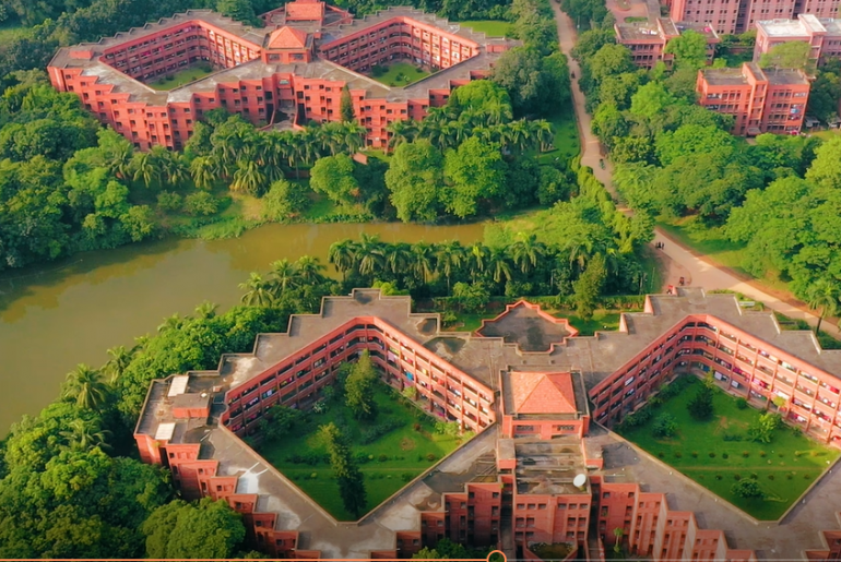 প্রকৃতির এক অনন্য সাম্রাজ্য - জাহাঙ্গীরনগর বিশ্ববিদ্যালয়। বিপ্রপার্টি