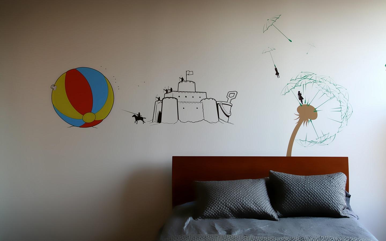 Temporary wallpaper