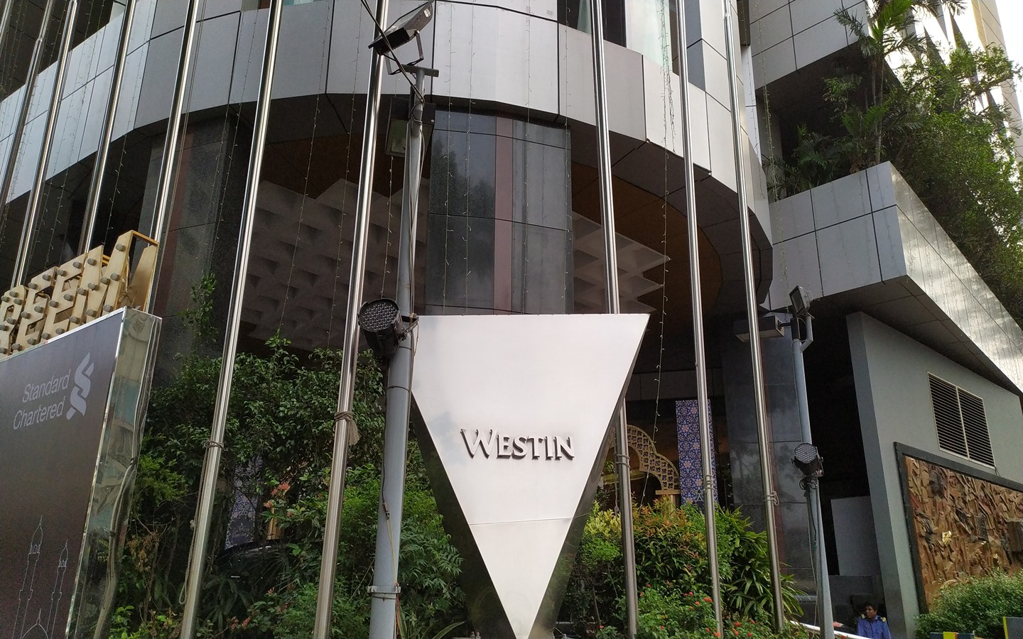 Outside view of westin