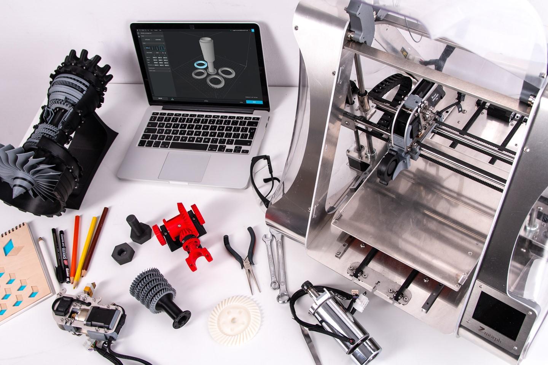3D printer with laptop programs